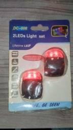 Sinalizador de led de.silicone de.bike