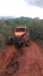 Gaiola buggy Jipe Documentado Motor 1.8 8V Flex