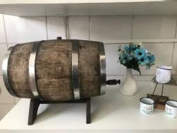 barril Tonel de 10 litros de carvalho.