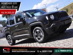 Título do anúncio: Jeep renegade std 1.8 automática ZERO KM