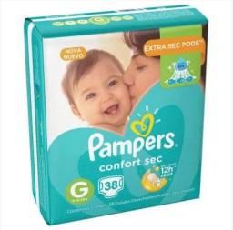 Fralda Pampers Confort Sec G