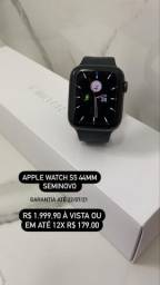 Apple Watch S5 44mm Preto Seminovo Garantia até 22/07/21
