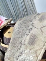 Bota pele de cobra