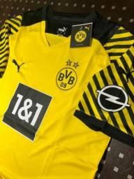 Título do anúncio: Camiseta Borussia Dortmund 21/22