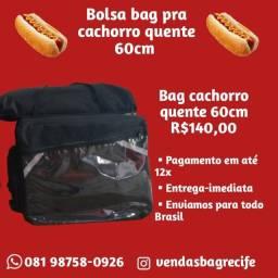 Bag especial para colocar cachorro quente grande! 60 centímetros
