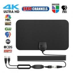 Antena HDTV 4K HD sinal aéreo de TV digital interna