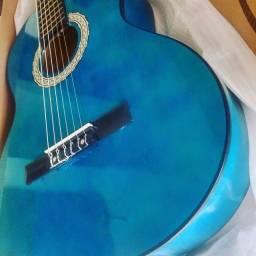 Violão Kuati Classico nylon blue Sunburst