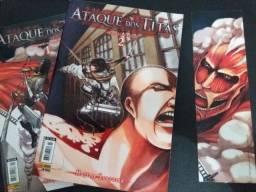 Manga Shingeki no Kyojin - Ataque dos Titãs