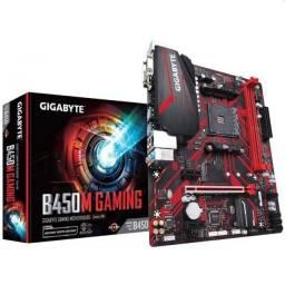 Placa mãe Gigabyte B450M-Gaming Socket AM4 Ryzen Athlon