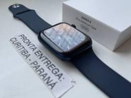 Apple Watch Series 6 44 mm Azul. Usado. Completo. Troco