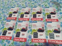 Cartão de memória 128GB R$ 70