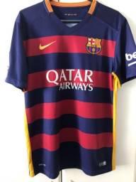 Camisa barcelona home 15/16