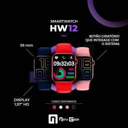 (promoção) Combo Smartwatch Premium original HW12 +Fone de ouvido QKZ Ak6