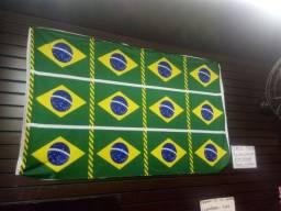Bandeira do Brasil modelo diferenciado 1,20 x 0,90 só $10,00$