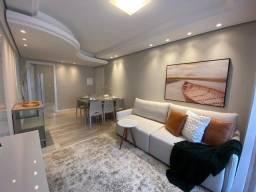 Apartamento reformado no Residencial Carolina - BC