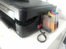 Máquina estampar + impressora + 50 folhas