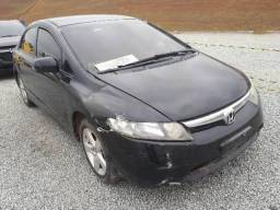 Honda Civic lXS 1.8 fLEX 2008 - 2008
