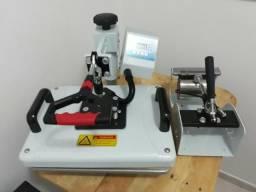 Prensa 8 em 1 + impressora sublimatica (parcelamos)