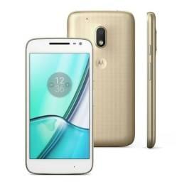 "Smartphone Moto G4 Play DTV Dual Chip Android 6.0 Tela 5"" 16GB Câmera 8MP 4G"