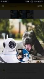 Câmera robô luatek 3 antenas 360graus Nova instalada aceito cartão crédito