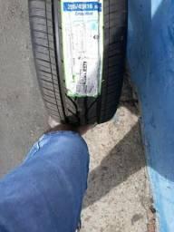 Jogo de rodas 17+ pneus novos 205/45/16