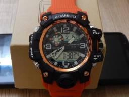 d3e804e06e9 Relógio Masculino Digital Esportivo Militar Tipo G-Shock