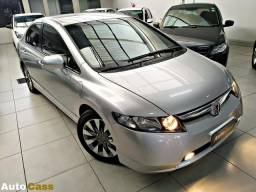 Civic lxs 1.8 top de linha! impecável! multimídia. - 2008