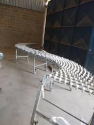 Esteira Flexivel Pantografica 8,20 Metros x 60 cm de largura