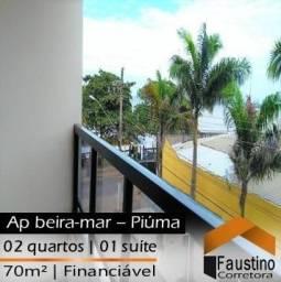 Ótimo apartamento no Jardim Maily, 2° andar, lateral, com vista pro mar!