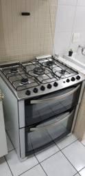 Fogão Electrolux 5 bocas 2 fornos em perfeito estado