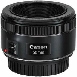 Troco lente Canon 35 por 50