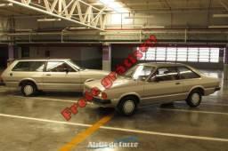 Corcel e Belina Astro 1986 -Série Rara, Originais: Juntos por R$ 39.000 - frete grátis - 1986