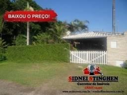 Casa com laje e suíte, em Bal. Barra do Sul - SC