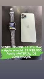 IPhone 11 Pro Max Aceito material de construção