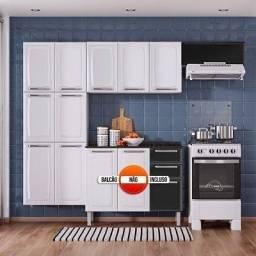 Otima Oferta de Cozinha 10 Portas De Aço Itatiaia Bem Dividida Nova Apenas 1289,00