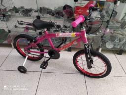 """Bicicleta aro 16"""" Moranguinho"""