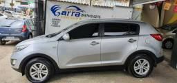 Sportage 2012 lx aut couro gnv