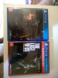 Jogos de PS4.