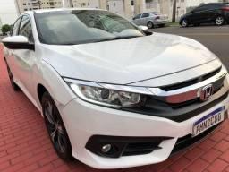 Honda Civic G10 Ano 2017-2018 zerada série luxo com pouco uso único dono com 27 mil km