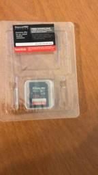 Cartão de memória SD 128GB