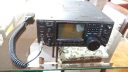 Rádio Icom Ic-746pro hf/vhf (rádio amador banda corrida)