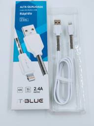 Cabo De Dados Usb Carregador It-blue 2.4a Ios para iphone
