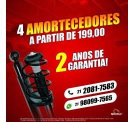 Fiesta - 4 Amortecedores Instalados