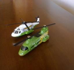 Helicópteros Boeing Chinook / Bell Chopper - Matchbox
