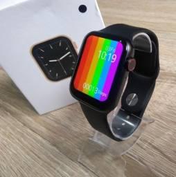 Relogio Smartwatch Iwo 12 Lite W26 Pulseira Preta Original
