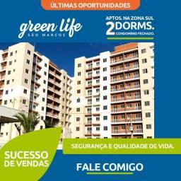 Green Life São Marcos- Apartamentos com sacada