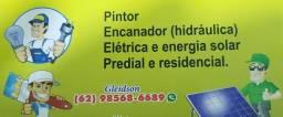 Eletricista,encanador, pintor,Estalador  etc