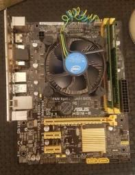 KIT Intel i5 4460 3.2GHz + Asus H81M-E LGA 1150 + 8Gb RAM 1333MHz DDR3