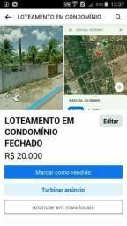 LOTEAMENTO BARATO EM CONDOMINIO FECHADO