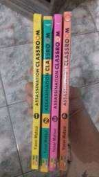 Assassination classroom manga 1 ao 4